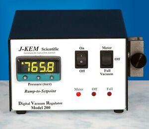 JKEM DVR-200 J-KEM Digital Vacuum Regulator Controller