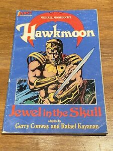HAWKMOON : THE JEWEL IN THE SKULL (1988, Moorcock,Kayanan,Conway) Vintage Comic