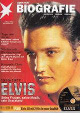 Elvis Presley Bio mit Elvis-CD - Stern Nr. 1 / 2002