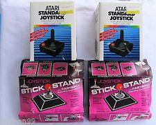 Atari 2600 NIB 2 Joysticks & 2 Stick Stands New Old Stock CX-40, K-Byte NOS