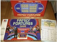 FAMILY FORTUNES Board Game by MB Games - Vintage 1981 - Complete Good Condition