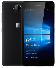 Microsoft LUMIA 650 5 Inch 8MP 16GB 4G~UNLOCKED~ BLACK Windows Smartphone