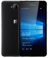 MICROSOFT Lumia 650 5 pollici 8MP 16GB 4G Sbloccato ~ ~ Nero Windows Smartphone