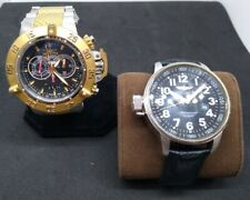 Invicta mens watch lot of 2 *working conditions