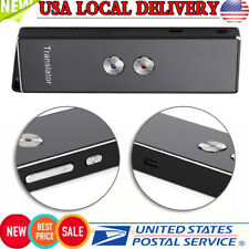 Portable X9 Real-time Intelligent Translator Multi-language Voice Pocket Device