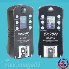 YONGNUO RF605N RF605 RF-605 Flash Trigger Strobe Trigger with LCD for Nikon