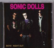 "CD - SONIC DOLLS - BOYS´ NIGHT OUT Punk  "" NEUWERTIG "" #L84#"