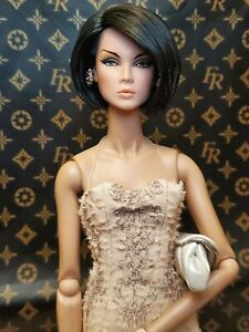 Fashion Royalty NuFace Never Ordinary Lilith OOAK Reroot Restyled Nude Doll EUC