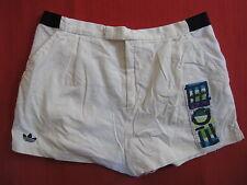 Pantalones Cortos Adidas STEFAN EDBERG Trefoil vintage Tenis blanco Oldschool