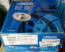 Pagid Front Vented Brake Disc For Nissan Primera P10 P11 1.6 1.8 2.0 52328