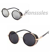 Gafas de sol de hombre ovaladas sin marca de metal