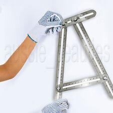 Stainless Steel Adjustable Multi-Angle Ruler Measuring Mechanism Template Tool
