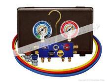 4-way ball valve manifold for automotive A/C Mastercool 86972-MB