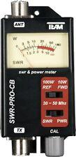 Stehwellenmeßgerät TEAM SWR Pro CB, LKW Funk, Truckerfunk, 20-50 MHz., Neu+OVP