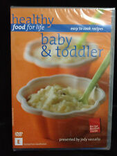 Healthy Food for Life Baby and Toddler - New/ DVD Region 4