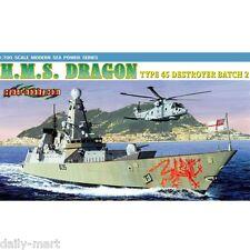 Dragon 1/700 7109 H.M.S. Dragon Type 45 Destroyer Batch 2 Model Kit