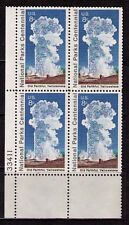 US USA Sc# 1453 MNH FVF PL# Yellowstone National Park Old Faithful Geyser Steam