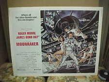MOONRAKER, orig rolled 22x28 [Roger Moore as James Bond, Richard Kiel as Jaws]