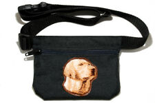 Labrador Retriever yellow Dog treat pouch/bag for dog shows & training.
