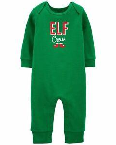 "ELF CREW.....Baby Christmas Jumpsuit......""NWT"" (Sz Newborn)"