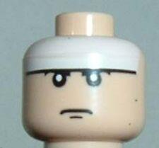 x1 NEW Lego Head BatMan ORIGINAL Minifig Head  Light Flesh