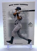 Derek Jeter 2001 Upper Deck #36 SP Authentic New York Yankees HOF NRMT