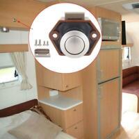 Lot Push Lock Button Cupboard Door Knob RV Cabinet Drawer Caravan Motor Home AU