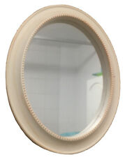 Small Shabby Chic Oval Mirror