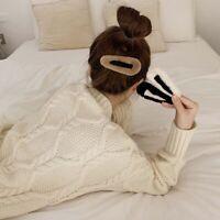 Cute Women Korean Girls Plush Hairpin BB Clip Barrette Hair Accessories