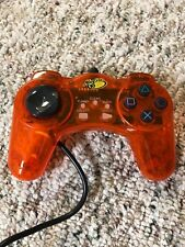 Madcatz Controller for Sony PS2 Gamepad Wired PlayStation 2 Orange
