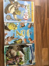 Sherk DVD Set Includes 3D Edition And Glasses