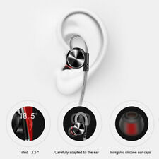 Portable Metal Sport Stereo Headphones Bass Headset Earphone With Mic NEW