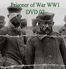 Rare Books Prisoner of World War 1 WW1 ~ DVD 2 ~ Prison Camp Escape Diary Hat 01