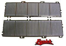 "1969 1970 Olds Cutlass ""S"" 442 non Ram Air Hood Chrome Hood Louver Set 69 70"