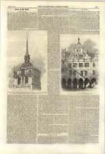 1861 John de LEYDEN, ANABAPTISTE révolte, Lamberti église cages