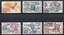 32902) CZECHOSLOVAKIA 1967 MNH** Space research 6v