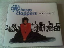 THE HAPPY CLAPPERS - CAN'T HELP IT - 6 MIX HOUSE CD SINGLE