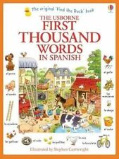 First Thousand Words in Spanish by Heather Amery (Paperback, 2014)