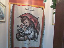 M.J. Hummel Umbrella Girl Throw by Pure Country Weavers