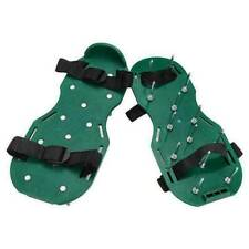 More details for garden lawn aerator spiked strapped sandal shoe pair fits all heavy duty