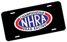 NHRA License Plate Automotive .40 Alum. Hi-Quality