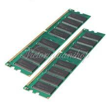 2G 2GB 2 x 1GB PC3200 DDR400 184Pin Non-ecc Desktop Dimm Memory RAM AMD ONLY