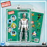 Official DC Comics Cyborg 8 inch Action Figure on Retro Style Retro Card