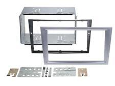 OPEL CORSA C MERIVA A Car Radio Panel Mounting Frame Dark Silver Double Din