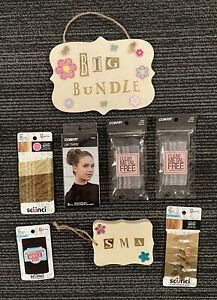 Hairstyling Product Lot Conair Scunci Bobby Pins Hair Ties Gentle Hold