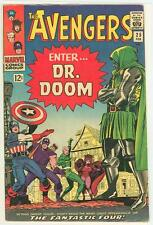 AVENGERS 25 5.5 6.0 WHITE PAGES DRDOOM CAPTAIN AMERICA HAWKEYE NICE PAGES RC