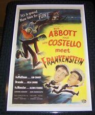 Bud Abbott and Lou Costello Meet Frankenstein 11X17 Universal Movie Poster
