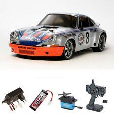 Tamiya Porsche 911 Carrera RSR TT-02 2,4GHz Komplettset - 58571SET