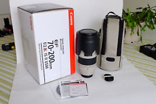 Canon EF 70 mm - 200 mm F/2.8 EF IS II USM for Canon - White Lens