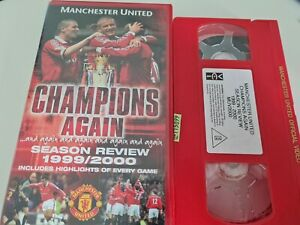 Manchester United VHS Champions Again Season Review 1999/2000